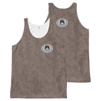 RESPIRATORY CRACKED EARTH NATURAL Slipperywindow All-Over-Print Tank Top