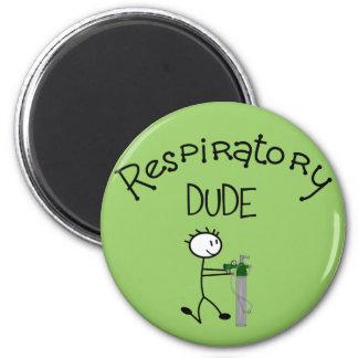 Respiratory DUDE T-Shirts & Gifs 2 Inch Round Magnet