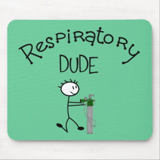 Respiratory DUDE T-Shirts & Gifs Mouse Pads
