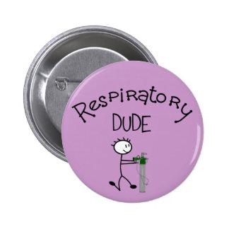 Respiratory DUDE T-Shirts Gifs Pinback Buttons