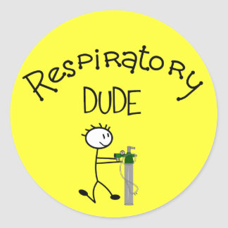 Respiratory DUDE T-Shirts & Gifs Stickers