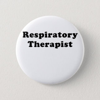 Respiratory Therapist 2 Inch Round Button