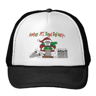 Respiratory Therapist Christmas T-Shirts Trucker Hat