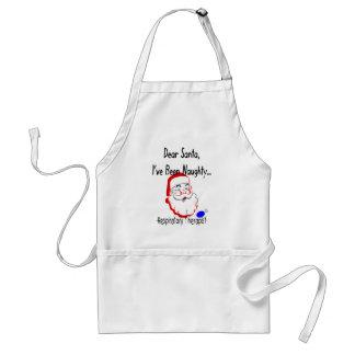 "Respiratory Therapist ""Dear Santa"" T-Shirts & Gift Standard Apron"