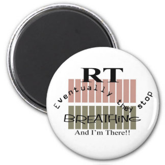 Respiratory Therapist Funny Gifts 2 Inch Round Magnet