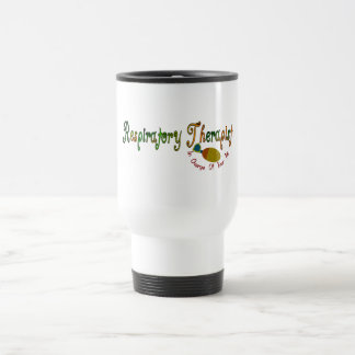 Respiratory Therapist Gifts 15 Oz Stainless Steel Travel Mug