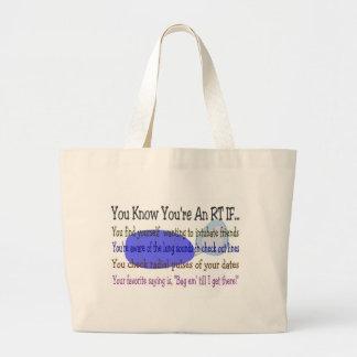 Respiratory Therapist Gifts Jumbo Tote Bag