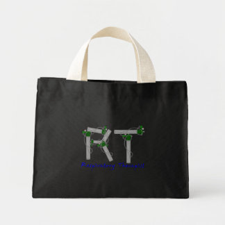 Respiratory Therapist Gifts O2 Tank Design Mini Tote Bag