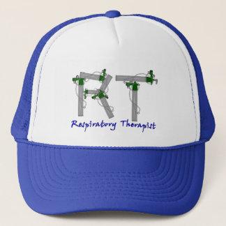 Respiratory Therapist Gifts O2 Tank Design Trucker Hat