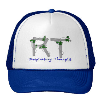 Respiratory Therapist Gifts O2 Tank Design Trucker Hat