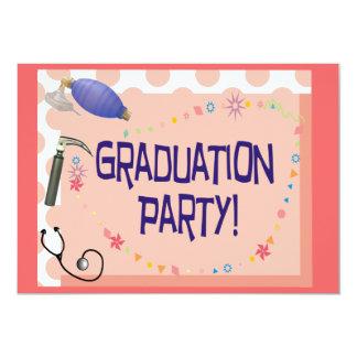 Respiratory Therapist Graduation Invitations