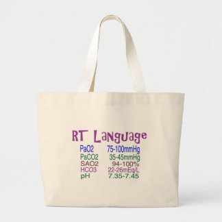 "Respiratory Therapist ""language"" Blood Gasses Bags"