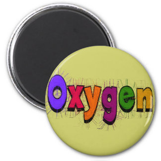 """Respiratory Therapist """"Oxygen"""" T-Shirts & Gifts Magnet"""