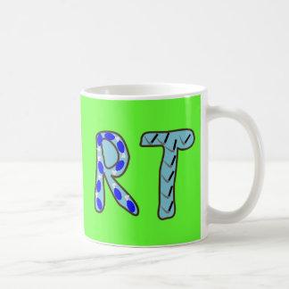 """Respiratory Therapist """"RT"""" Basic White Mug"""