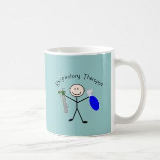 Respiratory Therapist Stick Person Basic White Mug