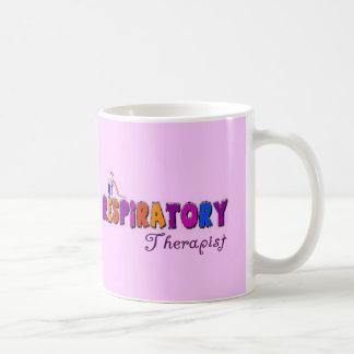 Respiratory Therapist Stickman Gifts Basic White Mug