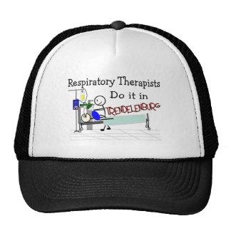 Respiratory Therapists do it in Trendelenburg Trucker Hat