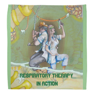 RESPIRATORY THERAPY ADVENTURES HEAD KERCHIEF