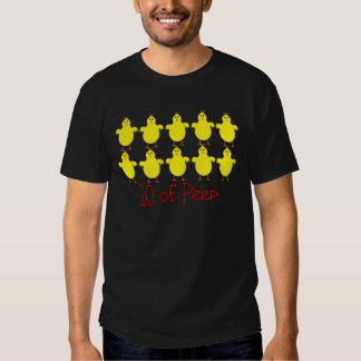 "Respiratory Therapy Gifts ""10 of PEEP""  Funny T-shirt"