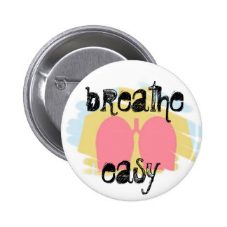 Respiratory Therapy Lungs Breathe Easy Button RT