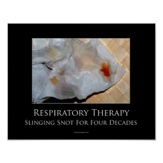 Respiratory Therapy Motivational Poster