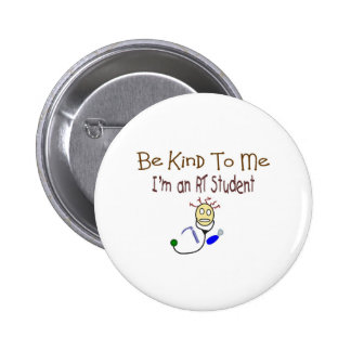 Respiratory Therapy Student Funny Gifts Buttons