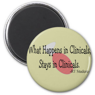 Respiratory Therapy Student  Gifts 2 Inch Round Magnet