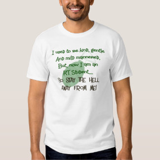 Respiratory Therapy Student Hilarious Gifts Shirt