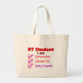 Respiratory Therapy Student--Stressed Out! Jumbo Tote Bag