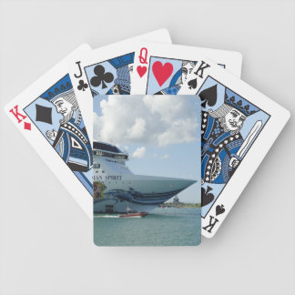 Resplendent Bow Bicycle Playing Cards