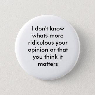 response 2 inch round button