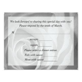 Response Card For Wedding