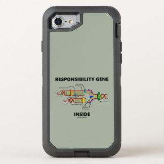 Responsibility Gene Inside DNA Genetics Humor OtterBox Defender iPhone 7 Case