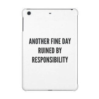 Responsibility iPad Mini Cover