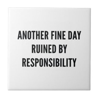 Responsibility Tile