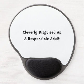 Responsible Adult Gel Mouse Pad