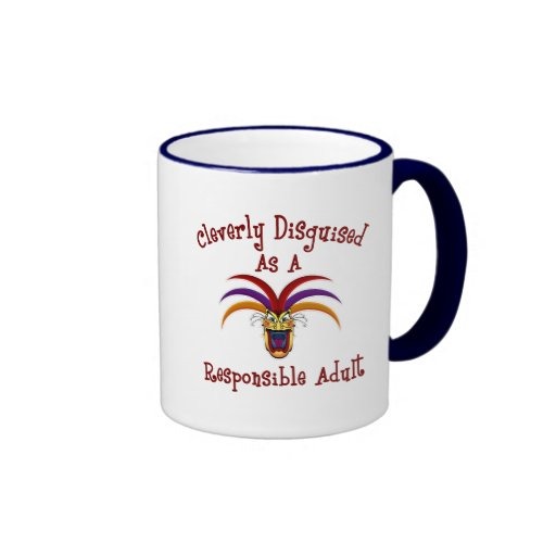 Responsible Adult Coffee Mugs
