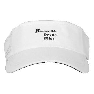 Responsible drone pilot visor