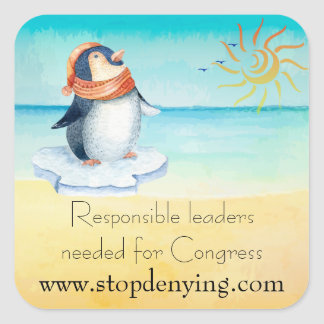 Responsible Leaders Needed for Congress Square Sticker