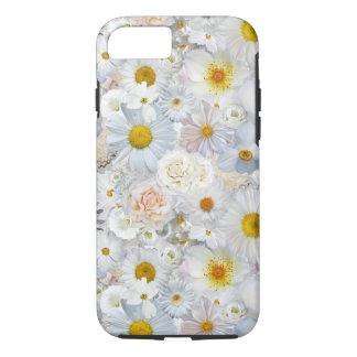 Ressort nuptiale de mariage floral de bouquet de coque iPhone 7