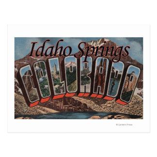 Ressorts de l'Idaho, le Colorado - grandes scènes Cartes Postales