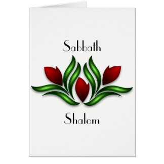 Rest and Rejoice Sabbath Card