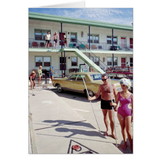 Rest Cove Motel in the 1960's Card