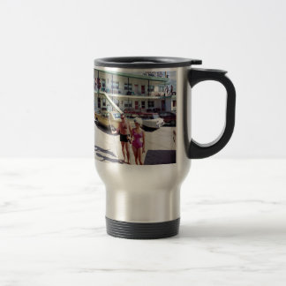 Rest Cove Motel in the 1960's Travel Mug
