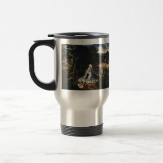 Rest During The Flight To Egypt by Joachim Patinir Stainless Steel Travel Mug