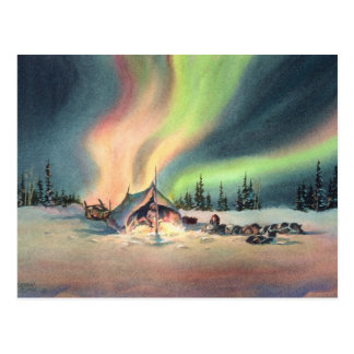 REST for the MUSHERS by SHARON SHARPE Postcard