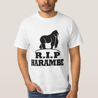 REST IN PEACE HARAMBE T-Shirt