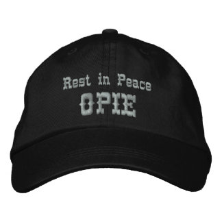 Rest in Peace Opie Embroidered Hat