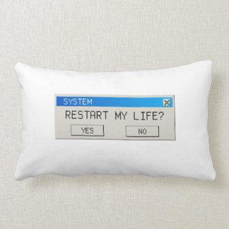 restart my life pillow