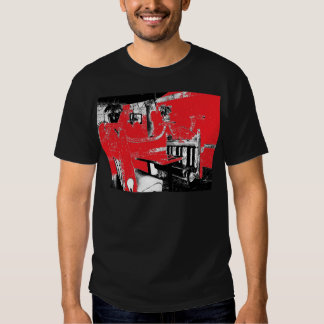 Restaurant Booth in Red Tees